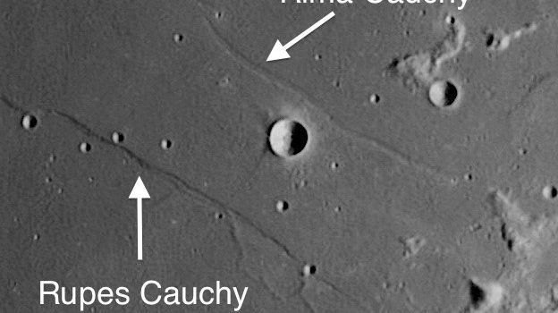 Two of the Best-Known Faults on the Moon