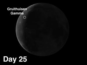 lunar dome Gruithuisen Gamma