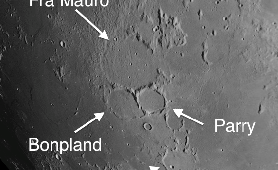 Craters in the Fra Mauro Region: Important Process that Shaped the Moon