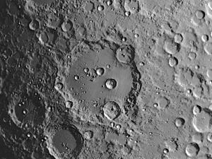 Moon crater Clavius