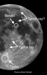 At a mere 109 million years, Tycho is the youngest of the large craters on the Moon