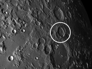 moon crater Burckhardt