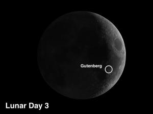 Moon crater Gutenberg