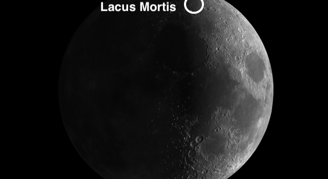 Two Moon Craters with Unique Features: Lacus Mortis and Bürg