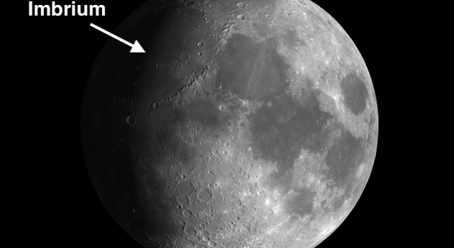 720 Mile Wide Crater – Imbrium Basin