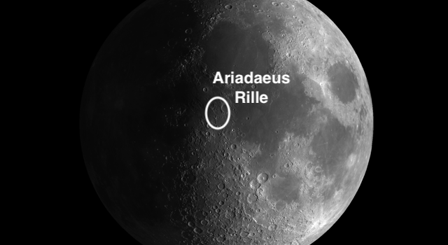 The Best Place to see Rilles on the Moon