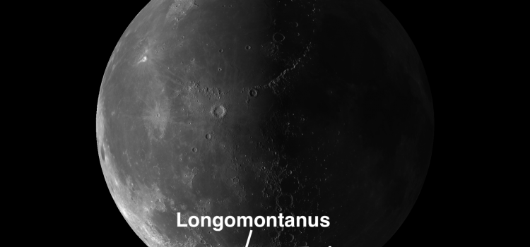 Moon Crater Longomontanus: Exception to the Rule Determining Crater Age