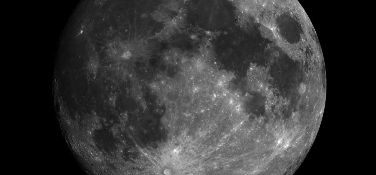 Complex Moon Crater Pythagoras and 50th Anniversary of Landing on the Moon