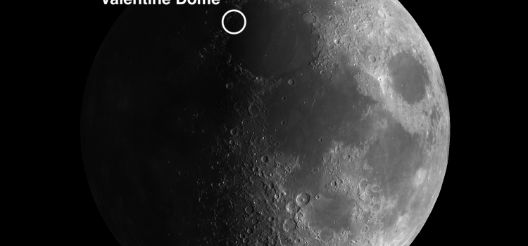 Largest dome on the Moon: Valentine Dome