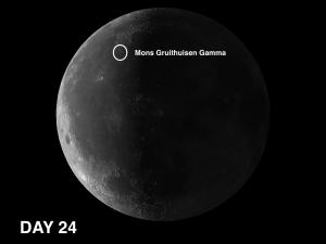 Gruithuisen Gamma on the moon Andrew Planck