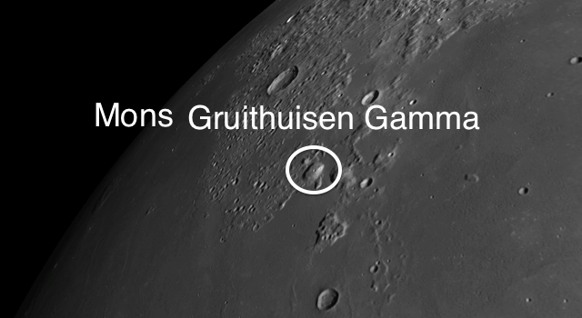 The Moon's Second Largest Dome: Gruithuisen Gamma
