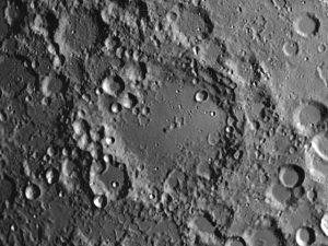 Moon crater Maginus