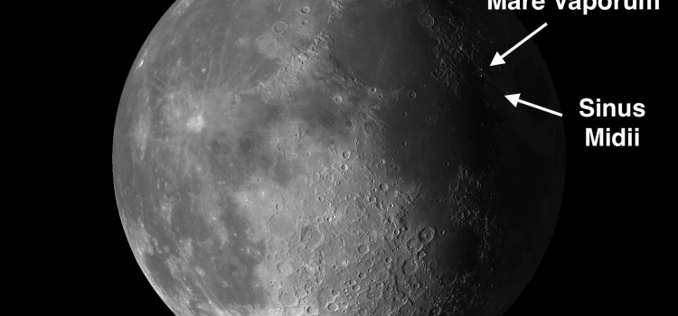 Finger-Like Projections on the Moon: Mare Vaporum