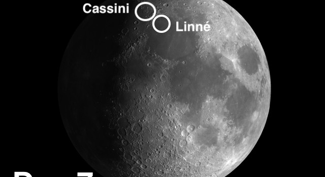 The History and Beauty of Moon Craters Linné and Cassini
