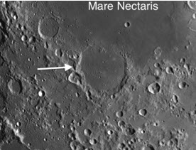 3 Moon Craters: Mare Nectaris, Fracastorius and Rupes Altai