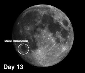 Mare Humorum on the moon