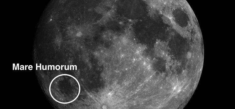 Mare Humorum: One of the Best Examples of Subsidence on the Moon