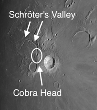 Schröter's Valley is the Moon's most impressive sinuous rille and was created when a monstrous lava tube collapsed