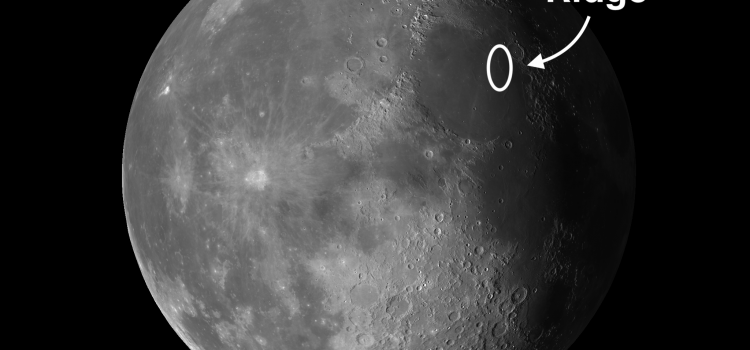 Serpentine Ridge: Moon's Best Example of a Wrinkle Ridge