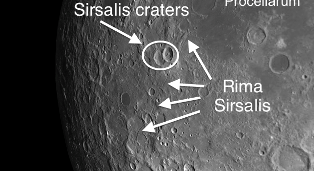 Rima Sirsalis: The Most Conspicuous Rille on the Moon