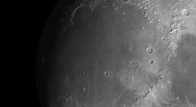 Mare Imbrium: Vast Lava Plain Within the Imbrium Basin on the Moon