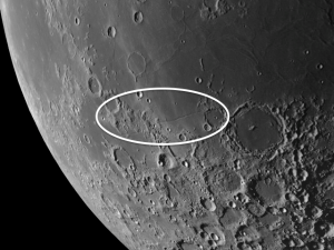 Palus Epidemiarum on the moon