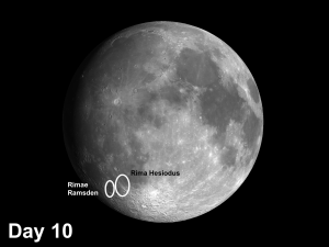 moon rilles Hesiodus & Ramsden