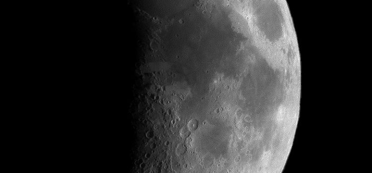 """Lake of Death"" Moon Crater and a Complex Moon Crater with Terraces and a Central Mountain Peak"