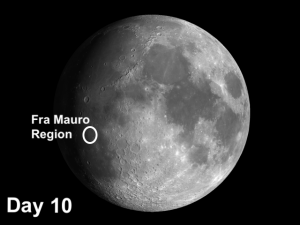 Craters in the Fra Mauro region are critical to understanding an important process that shaped the Moon