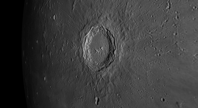 Moon Crater Copernicus – The Monarch of the Moon