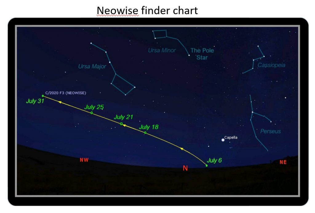 Neowise Finder Chart
