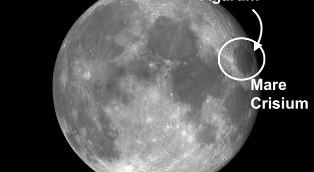 Mare Crisium: Multi-Ring Imprint From Impact of Large Meteor