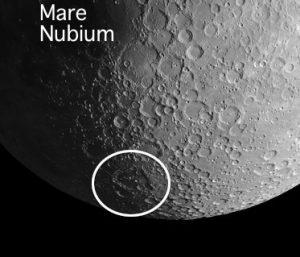 Mare Nubium on the moon