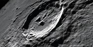 moon crater Philolaus lies within one crater diameter to the east-southeast of the flooded crater Anaximenes