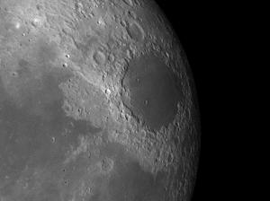moon crater Mare Crisium
