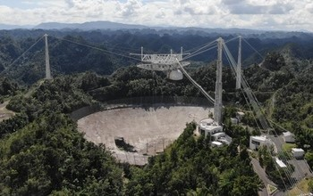 Montes Recti and the Collapse of the Arecibo Radio Telescope