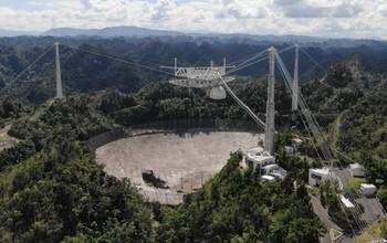 Montes Recti and the Collapse of the Arecibo Radio Telescope