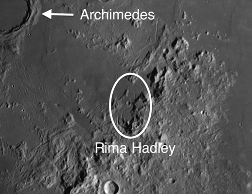 Hadley Rille afforded the Apollo 15 astronauts an opportunity to examine a deep cross section of the basin.