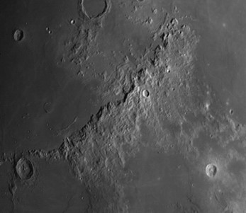 Apennines on the moon