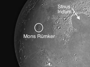Mons Rümker: Lunar Dome on the Moon