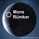 Mons Rümker lunar dome on the moon