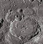 Maurolycus moon crater floor