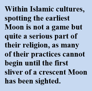 significance of moon in Islamic cultures