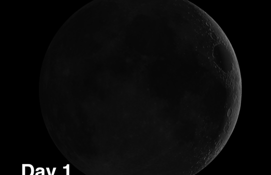 Geminus and Burckhardt: Craters on the Moon