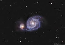 Whilpool Galaxy discovered by Charles Messier