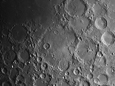 moon crater Deslandres