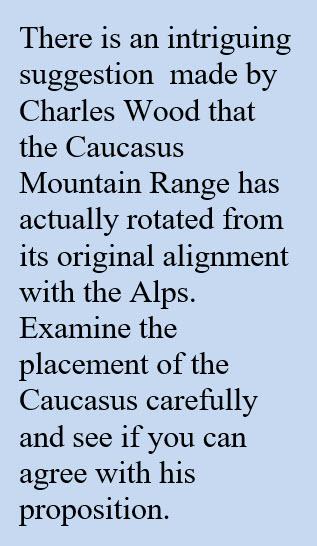 Charles Wood and Caucasus Mountain Range on moon
