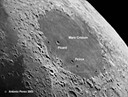 The Two Largest Intact Moon Craters: Peirce and Picard
