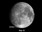 Moon Crater Schiller is a Curiosity